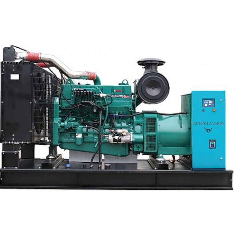 ΜΙΝ-ETT-880C Γεννήτρια (Η/Ζ) με max ισχύ 880 kVA (704 kW) MINOTAVROS