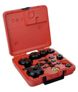69079019P σετ βιδωτών διακορευτών (ζουμπάδων) - 7 τεμάχια/πλαστικό κουτί BAHCO
