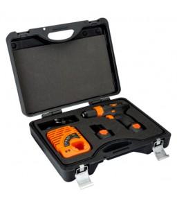 "BCL31D1K1 12 V 3/8""-10 mm δραπανοκατσάβιδο με μεταλλικό ταχυτσόκ Kit BAHCO"