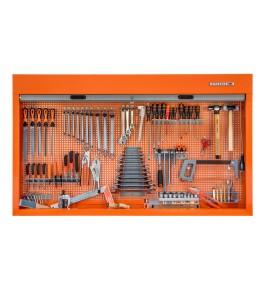 1495CS15TS1 1500 mm ντουλάπι εργαλείων με στόρι γενικής χρήσης σετ εργαλείων - 110 τεμάχια BAHCO