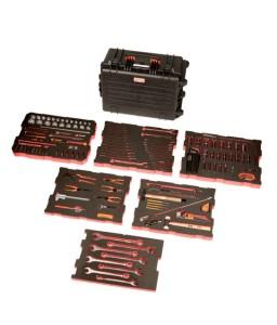4750RCHDW02FF1 Βαριάς χρήσης σκληρή βαλίτσα MRO σετ εργαλείων - 195 τεμάχια BAHCO