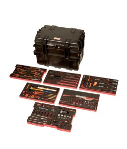 4750RCWD4FF1 Βαριάς χρήσης σκληρή βαλίτσα γενικής χρήσης σετ εργαλείων - 162 τεμάχια BAHCO