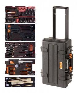 4750RCHDW01FF3 μεταλλική εργαλειοθήκη γενικής χρήσης σετ εργαλείων - 194 τεμάχια BAHCO