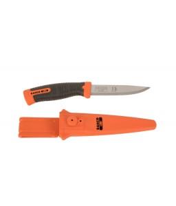 2446 γενικής χρήσης εξειδικευμένου εργαζόμενου μαχαίρι με δύο στοιχείων χειρολαβή και διπλό Button θήκη BAHCO