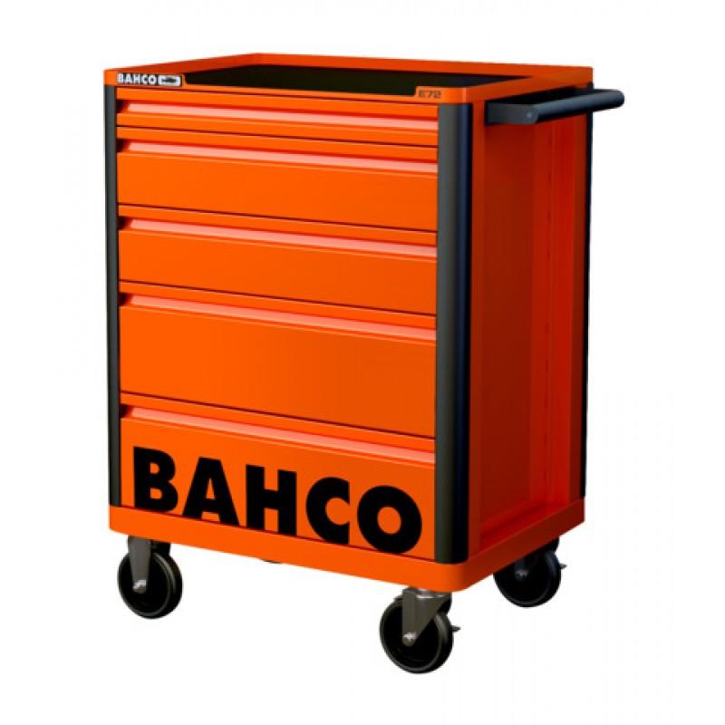 1472K5RED 26 E72 Storage HUB εργαλειοφορέας με 5 συρτάρια BAHCO