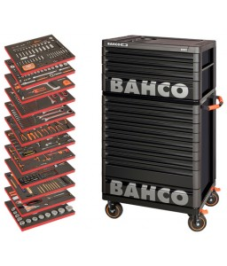 XLARGE Εργαλειοφόρος γενικής χρήσης σετ εργαλείων - 560 τεμάχια BAHCO