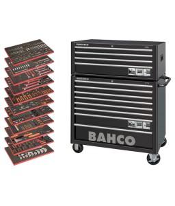 MONSTER Εργαλειοφόρος γενικής χρήσης σετ εργαλείων - 758 τεμάχια BAHCO