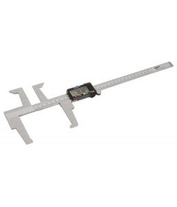BBR405 ψηφιακό παχύμετρο για τη μέτρηση πάχους του δίσκου και διάμετρο ταμπούρου BAHCO
