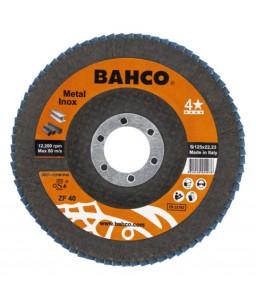 3927-115IM-P120 πολλαπλών φύλλων σμυριδόδισκοι λειάνσεως για Inox και μέταλλο BAHCO