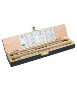 1450D/2 διπλό επισκευαστικό σπειρωμάτων σετ σε ξύλινο κουτί BAHCO