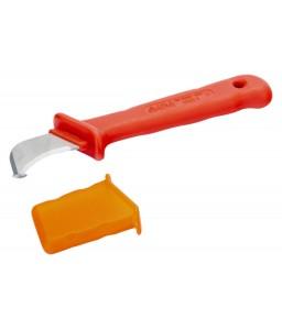 2820VHELP VDE μονωμένο κυρτό μαχαίρι με οδηγό BAHCO