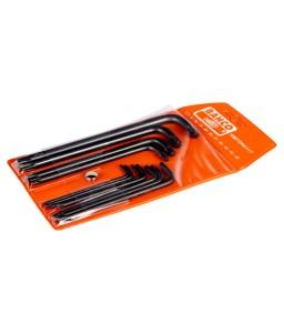 1995TORX/11T μακρύ TORX® L-κλειδιά σετ φωσφατωμένα - 11 τεμάχια BAHCO