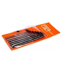 1995TORX/7T μακρύ TORX® L-κλειδιά σετ φωσφατωμένα - 7 τεμάχια BAHCO