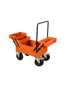 1497MBW τροχήλατη αρθρωτή μεταλλική εργαλειοθήκη BAHCO