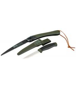 LAP-KNIFE αναδιπλούμενο πριόνι και μαχαίρι Laplander σετ με δύο στοιχείων χειρολαβή BAHCO