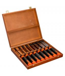 434-S8-EUR ERGO™ (Splitproof) προστασία απο διάσχιση σετ κοπιδιών - 8 τεμάχια/ξύλινη Box BAHCO