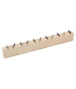 2145020L0 πλακέ ράγα σοβατζή με ξύλινη χειρολαβή BAHCO