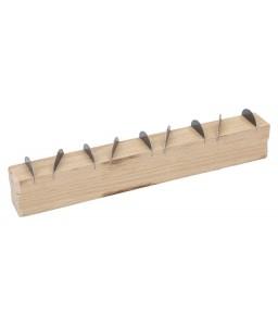2145025C0 κυρτή ράγα σοβατζή με ξύλινη χειρολαβή BAHCO