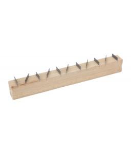 2145020D0 πλακέ και οδοντωτή ράγα σοβατζή με ξύλινη χειρολαβή BAHCO