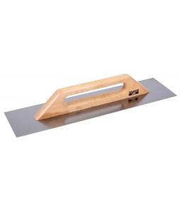 204530140 μυστρί σοβατίσματος με ανοξείδωτη λεπίδα και μακρυά λεύκας ξύλινη χειρολαβή BAHCO