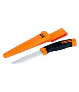 2446-OV γενικής χρήσης εξειδικευμένου εργαζόμενου μαχαίρι με δύο στοιχείων χειρολαβή και ειδική θήκη BAHCO