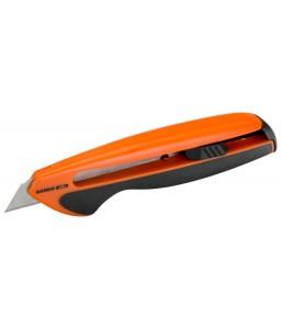 KB18-01 σπαστής λεπίδας - βοηθητικό μαχαίρι με TPR χειρολαβή και 18 mm λεπίδα BAHCO