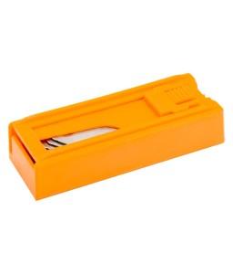 KBGH-5P-DISPEN γάντζο τραπεζοειδή λεπίδες για βοηθητικό μαχαίρι - 5 τεμάχια/διανομέας BAHCO