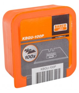 KBGU-100P τραπεζοειδή λεπίδες για βοηθητικό μαχαίρι - 100 τεμάχια BAHCO