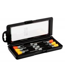706-2 ίσια/Phillips κατσαβίδια σετ με ακριβείας πιάσιμο 1-1.8 mm/PH00-PH0 - 6 τεμάχια BAHCO