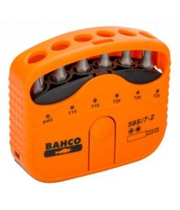 "59S/7-2 1/4"" σετ μύτες για Phillips/βίδες TORX® - 7 τεμάχια BAHCO"