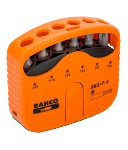 "59S/7-4 1/4"" σετ μύτες για βίδες TORX® - 7 τεμάχια BAHCO"