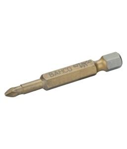 "62TIN/50PZ1 1/4"" Tin μύτη κατσαβίδι στρέψης για βίδες με Pozidriv κεφάλι 50 mm BAHCO"