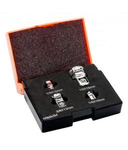 1RMA/S4 Συλλογή από αντάπτορες κλειδιών με καστάνια 4 τεμ. BAHCO
