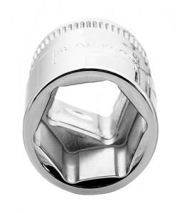 """7400SM-10 3/8""""καρέ καρυδάκι μετρικό εξάγωνο προφίλ και πολύ γυαλισμένο φινίρισμα BAHCO"""