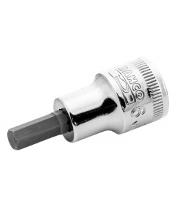 "7409M-10 3/8""καρέ καρυδάκι για βίδες με άλλεν (εξάγωνο) κεφάλι BAHCO"
