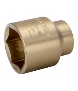 """NS220-06 Αντισπινθηρικό 1/2"""" καρυδάκι μετρικό εξάγωνο προφίλ αλουμινίου μπρούντζου BAHCO"""
