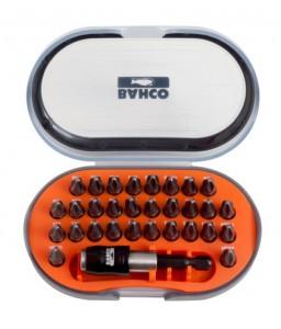 "60T/31-1 1/4"" σετ μύτες στρέψης (για παλμικά) για ίσια/Phillips/Pozidriv/TORX®/βίδες με άλλεν (εξάγωνο) κεφάλι BAHCO"