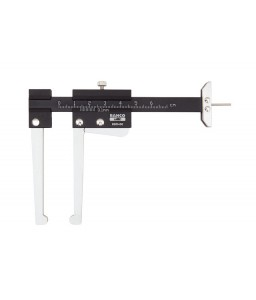 BBR400 αλουμινίου παχύμετρο για τη μέτρηση πάχους του δίσκου BAHCO