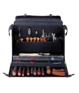 3049-2 δερμάτινη τσάντα ηλεκτρολόγου σετ εργαλείων - 28 τεμάχια BAHCO