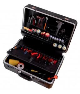 2010 σκληρή βαλίτσα γενικής χρήσης σετ εργαλείων - 109 τεμάχια BAHCO