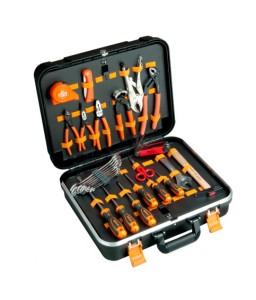 983000320 πλαστική βαλίτσα γενικής χρήσης σετ εργαλείων - 32 τεμάχια BAHCO