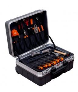 984010320 τροχήλατη σκληρή βαλίτσα γενικής χρήσης σετ εργαλείων - 32 τεμάχια BAHCO