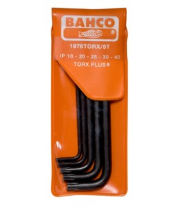 1976TORX/5T μακρύ TORX® Plus L-κλειδιά σετ φωσφατιομένα - 5 τεμάχια BAHCO