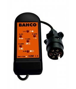 BELT127 ελεγκτής πρίζας 7 ακίδων 12V BAHCO
