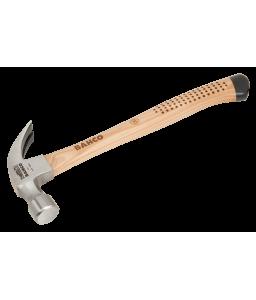 427-13 οικοδομικό διχαλωτό σκεπάρνι με αντιολισθητική ξύλινη  χειρολαβή BAHCO