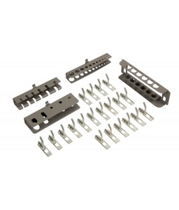 1495CD-AC1 κιτ άγγιστρων για 1495 ντουλάπια και Panel - 24 τεμάχια BAHCO