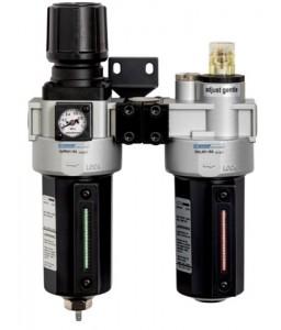 "BP255T 1/2"" ρυθμιστής πίεσης, φίλτρο και ελαιοτήρας με έξοδο καθαρού ξηρού αέρα τύπου T BAHCO"
