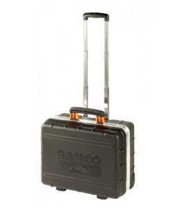 4750RCW01 42 L τροχήλατη σκληρή βαλίτσα εργαλείων με τηλεσκοπική χειρολαβή BAHCO