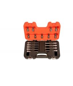 "S18TORX 1/2"" σετ καρυδάκια με TORX® μύτες - 18 τεμάχια BAHCO"