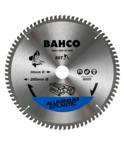 8501-17S Δίσκοι δισκοπριόνου για φαλτσοπρίονο σε αλουμινίου και πλαστικό BAHCO